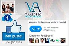 Abogado de Familia en Facebook Vestalia Asociados