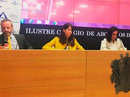 Abogados de familia en acto AJA MADRID