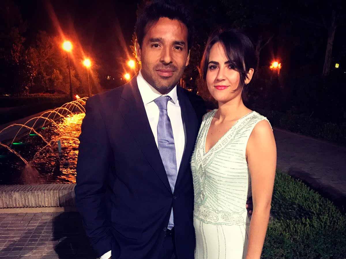 Gustavo Belmont y Adriana Rodríguez enla cena del ICAM