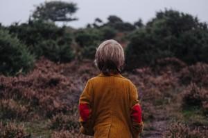 una marca del divorcio en la infancia
