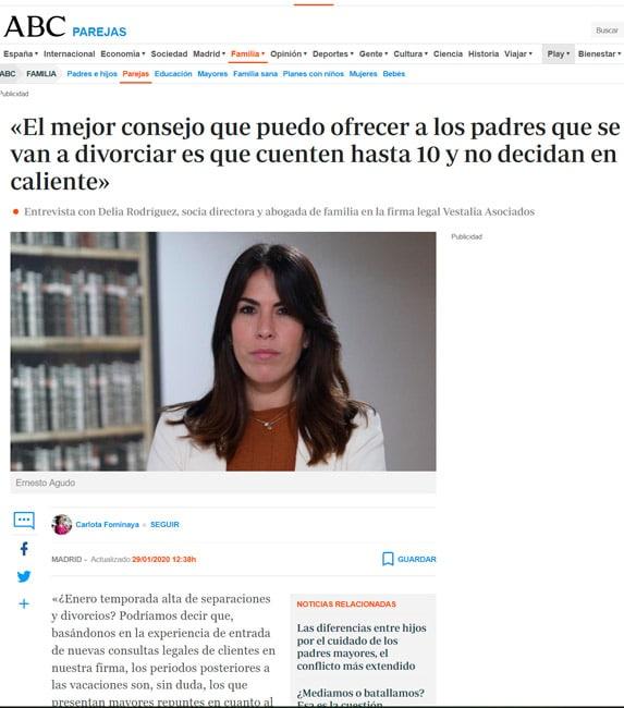 entrevista Delia Rodriguez ABC