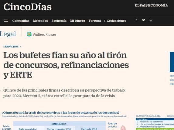 Reportaje 5 Días El País 2020