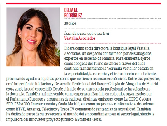 Delia top 50 Iberian Lawyer