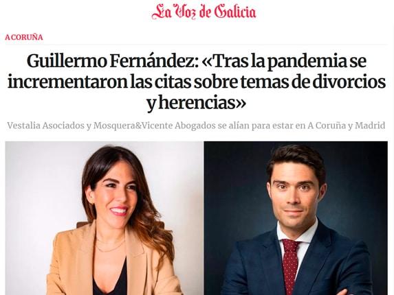 La Voz de Galicia Vestalia