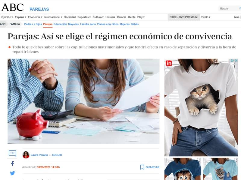 Parejas: Así se elige el régimen económico de convivencia – ABC