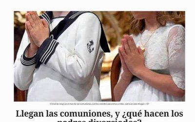 Llegan las comuniones, y ¿qué hacen los padres divorciados? – El Español