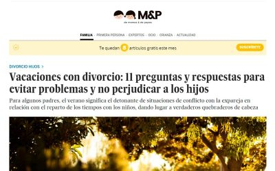 Vacaciones con divorcio: 11 preguntas y respuestas para evitar problemas y no perjudicar a los hijos – El País
