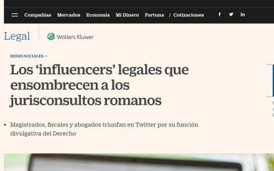 Los 'influencers' legales que ensombrecen a los jurisconsultos romanos